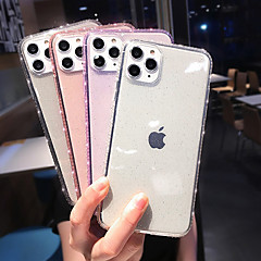 cheap -Case for Apple scene map iPhone 11 11 Pro 11 Pro Max X XS XR XS Max 8 solid color glitter powder translucent TPU material all-inclusive diamond phone case HRS