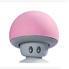 cheap -Cartoon Mushroom Wireless Bluetooth speaker waterproof sucker mini bluetooth speaker audio outdoor portable Bracket