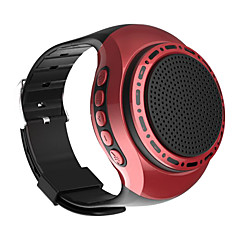 cheap -U6 Colorful Running LED Cool Wrist Buetooth Watch Speaker Sports Music FM Radio Support 8GB 16GB TF Card