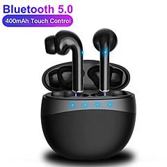 olcso -m19 tws vezeték nélküli bluetooth fülhallgatók v5.0 sztereo basszus érintőképernyős fejhallgató okostelefonokhoz