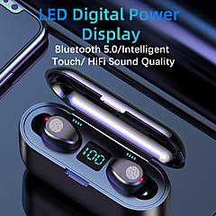 cheap -F9 Wireless Headphones Bluetooth 5.0 Earphone TWS HIFI Mini In-ear Sports Running Headset Support iOS/Android Phones HD Call TWS True Wireless Earbuds Wireless Bluetooth 5.0 Stereo