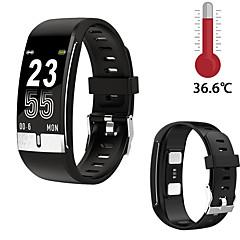 cheap -E66 Smart Watch ECG Temperature Measurement Heart Rate Blood Pressure Oxygen Wristband Health Fitness Bracelet Smart Band