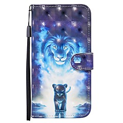 cheap -Case For Apple iPhone SE 2020 iPhone 11 Pro iPhone 11 Pro Max XR XS Max 7 8 Plus Wallet  Card Holder  with Stand Full Body Cases Animal PU Leather