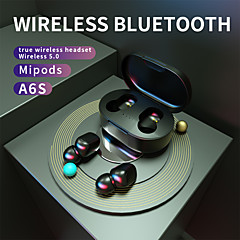 cheap -A6S TWS True Wireless Earbuds Auto Pairing Smart Touch Control Bluetooth 5.0 Stereo Dual Drivers with Microphone with Charging Box Sport Fitness for Android iPhone Smart Phones Tablet PC laptop