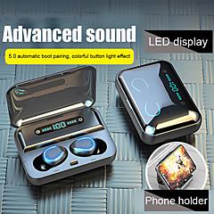 ราคาถูก -dudao f9-5 tws จริงไร้สายหูฟังไร้สายบลูทู ธ 5.0 ไฮไฟสเตอริโอพร้อมกล่อง s weatproof มือถือพลังงานสำหรับโทรศัพท์มือถือ