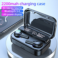 cheap -F9 TWS BTH-278 Earphones Bluetooth Wireless Headphone 2200mAh Charging Box Sports Waterproof Digital display Earbuds Headsets With Microphon TWS True Wireless Earbuds Bluetooth 5.0 HIFI BTH278