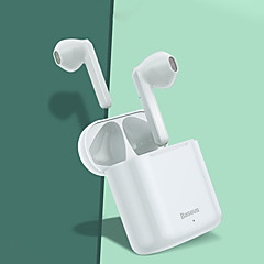 cheap -Baseus W09 TWS Wireless Bluetooth Earphone Intelligent Touch Control Wireless TWS Earphones With Stereo Bass Sound Smart Connect