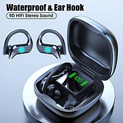 tanie -litbest md03 tws prawdziwe bezprzewodowe słuchawki douszne bluetooth 5.0 stereo z mikrofonem z etui ładującym automatyczne parowanie ipx5 dla rozrywki w podróży