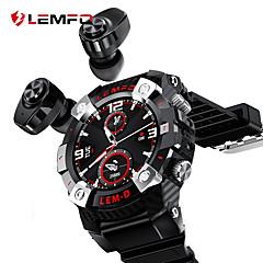 cheap -LEMFO LEMD 2020 Sport Smart Watch TWS Bluetooth Earphone 2In1 360*360 HD Display 350Mah Battery Multi Language Smartwatch Men