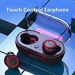 tanie -litbest a2 tws bezprzewodowe słuchawki douszne mini douszne odporne na pot słuchawki douszne bluetooth 5.0 słuchawki stereo tryb twin i mono sterowanie jednym dotknięciem sportowe słuchawki fitness