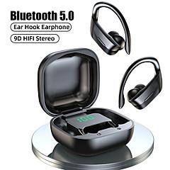 tanie -litbest b12 tws słuchawki bezprzewodowe bluetooth 5.0 słuchawki 9d hifi stereo sportowe wodoodporne słuchawki wyświetlacz led słuchawki zaczep na ucho zestaw słuchawkowy