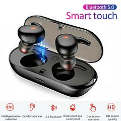 povoljno -litbest tws bluetooth 5.0 slušalice mini bežične slušalice kontrola na dodir vodootporne stereo sportske slušalice slušalice mikrofon za android i ios