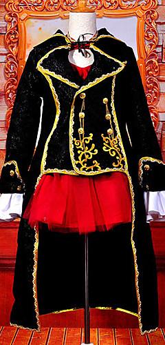 abordables -Inspiré par Vocaloid Meiko Vidéo Jeu Costumes de Cosplay Costumes Cosplay Mosaïque Haut Les costumes