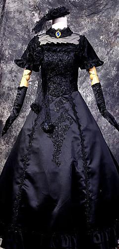abordables -Inspiré par Vocaloid Hagane Miku Vidéo Jeu Costumes de Cosplay Costumes Cosplay Mosaïque Haut Les costumes