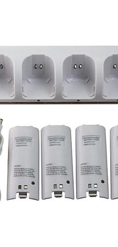 preiswerte -WII Audio und Video Ladegerät / Batterien Für Wii U / Wii . Mini Ladegerät / Batterien Metal / ABS 1 pcs Einheit