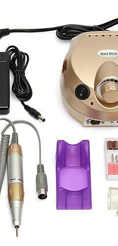 billige -elektrisk spikerbor 30000 o / min neglebor spikerpoleringsmaskin pro elektrisk neglekunst drillfil sander maskinapparat for manikyr pedikyr neglefil for spikergelverktøy på lager rask levering