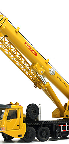 رخيصةأون -KDW 01:55 بلاستيك معدن ABS الروافع لعبة الشاحنات ومركبات البناء لعبة سيارات قابل للتتبع قابلة للطي برج للصبيان للفتيات للأطفال مراهق ألعاب السيارات
