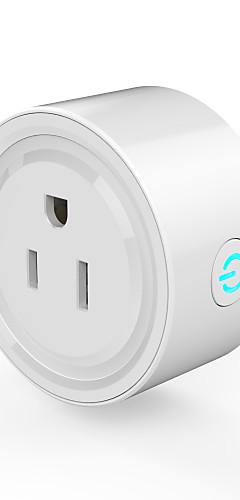 preiswerte -WAZA Smart Plug für Neuheiten für die Küche / Wohnzimmer / Waschraum APP-Steuerung / Zeitschaltuhr / Berührungsschalter Wifi 3G 100-240 V