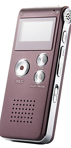 preiswerte -n28 wiederaufladbare 8 gb tragbare digitale Audio-Diktiergerät Diktiergerät Telefon MP3-Player und Recorder-Player