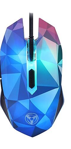preiswerte -litbest w39 führte atemlicht verdrahtete USB-Gaming-Maus optisch 4 einstellbare dpi-Stufen 1000/1600/2400/3200 dpi 6 Schlüssel