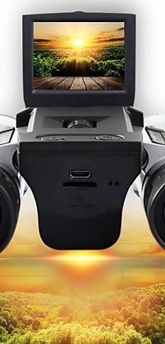 رخيصةأون -12 X 32 mm مناظير دقة عالية شاشة LCD Video التخييم والتنزه الصيد التسلق السليكون المطاط المطاط السيليكون