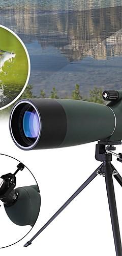 Недорогие -20-60 X 60 mm Монокль Зрительная труба Порро Масштабируемые Ночное видение в условиях низкой освещенности Высокое разрешение Компактный Полное многослойное покрытие BAK4 Отдых и Туризм Охота Рыбалка