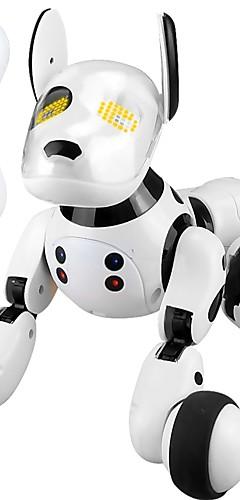 رخيصةأون -2.4G Wireless Remote Control Smart Dog حيوانات الكترونية روبوت، الكلب كلاب حيوان الغناء الرقص المشي البلاستيك بالصف ABS للصبيان للفتيات ألعاب هدية / ذكي