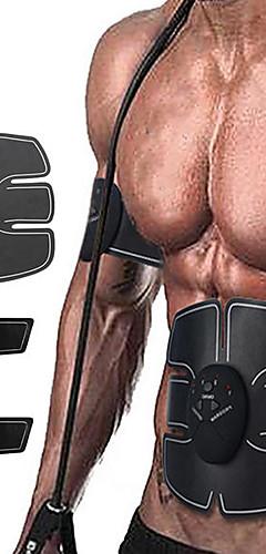 رخيصةأون -جهاز تحفيز Abs لعضلات البطن حزام التنغيم البطن EMS أب المدرب إلكتروني أجهزة تقوية العضلات لاسلكي فقدان الوزن التدريب النهائي Fitness تمرين نادي رياضي إلى عن على رجالي نسائي رجل بطن المنزل المكتب