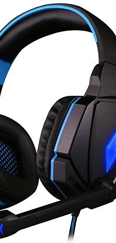preiswerte -KOTION EACH G4000 Gaming-Headset Mit Kabel Spielen Mit Mikrofon Mit Lautstärkeregelung