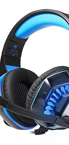 preiswerte -KOTION EACH GM-2 Gaming-Headset Mit Kabel Spielen Mit Mikrofon Mit Lautstärkeregelung