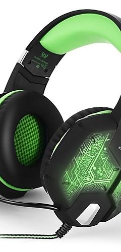preiswerte -KOTION EACH G1000 Gaming-Headset Kabel Spielen Mit Mikrofon Mit Lautstärkeregelung