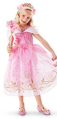 economico -Da principessa Elsa Anna Vestiti Vestito da Serata Elegante Vestito del flapper Abito di Natale Per bambini Da ragazza Principessa Halloween Natale Halloween Giornata universale dell'infanzia Feste