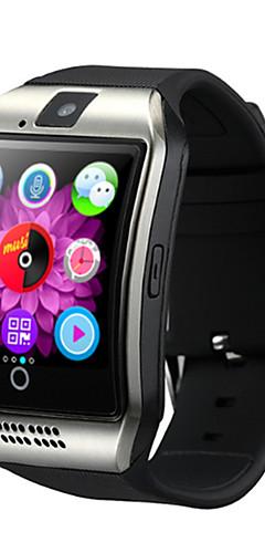 preiswerte -Q18 Männer Smartwatch Android ios 3g Bluetooth wasserdicht Pulsmesser Freisprechanrufe Videokamera Timer Stoppuhr Schlaf-Tracker finden mein Gerät Wecker / Community Share / 128MB