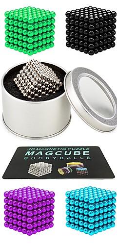 رخيصةأون -216 pcs 3mm 5mm ألعاب المغناطيس كرات مغناطيسية ألعاب المغناطيس أحجار البناء سوبر قوي نادر الأرض مغناطيس مغناطيس النيوديميوم مغناطيس النيوديميوم مغناطيس / التوتر والقلق الإغاثة