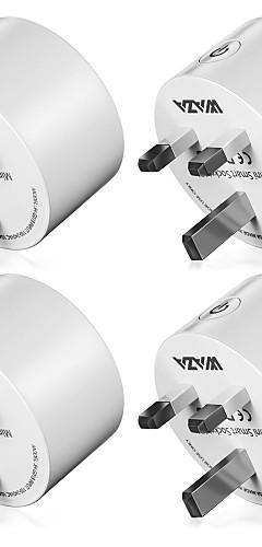 preiswerte -WAZA Smart Plug WAZA SP14 für Alltag / Wohnzimmer / Schlafzimmer APP-Steuerung / Ministil / Smart Wifi 110-220 V
