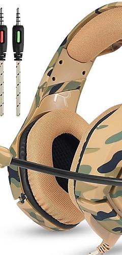 preiswerte -LITBest K1B Gaming-Headset Mit Kabel Spielen Mit Mikrofon Mit Lautstärkeregelung