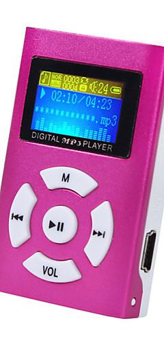 preiswerte -mini mp3 musik player lcd-bildschirm unterstützung 32 gb micro sd tf-karte sportart nagelneue art wiederaufladbar