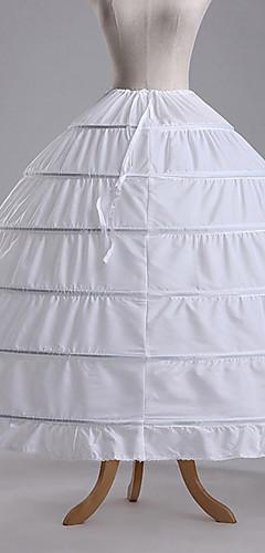 povoljno -Petticoat kratka baletska suknja Pod suknjom 1950-te Pamuk Zelen Plava Fuschia Petticoat / Krinolina