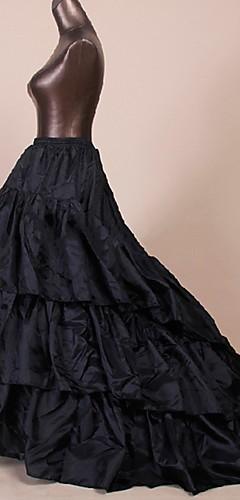 povoljno -Petticoat kratka baletska suknja Pod suknjom 1950-te Crn Petticoat / Krinolina