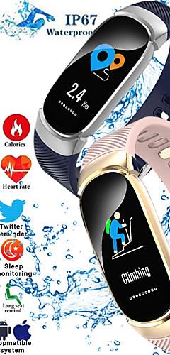 preiswerte -s3 Smart Armband Bluetooth Fitness Tracker Unterstützung Herzfrequenz-Überwachung / Kalorienverbrauch Sport Smart Watch für Samsung / iPhone / Android-Handys