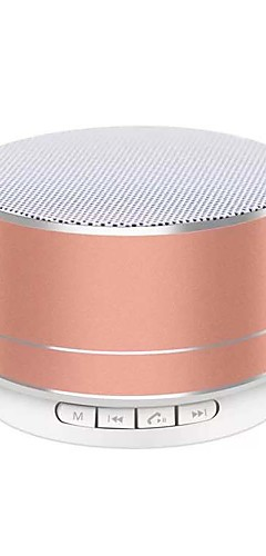 cheap -A10 Portable Wireless Bluetooth Speaker With Microphone Radio Music Play Support TF Card Speakers For computer phone
