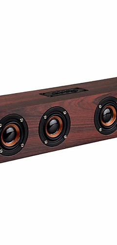 cheap -Bluetooth speaker Bluetooth Speaker Outdoor Portable Woodiness For