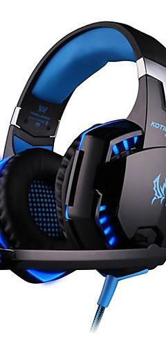 preiswerte -LITBest G2000 Gaming-Headset Mit Kabel Spielen Rauschunterdrückung Musik Stereo