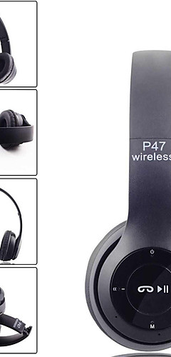 preiswerte -LITBest P47 Over-Ear-Kopfhörer Kabellos Reise Bluetooth 4.2 Stereo Mit Mikrofon Mit Lautstärkeregelung