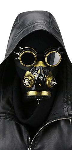 povoljno -Liječnik plague Retro / vintage Steampunk Mask Povorka maski Muškarci Žene Koža Kostim Mask Zlatan Vintage Cosplay Božić Party Halloween
