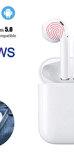 preiswerte -Mini-i12 tws wahre drahtlose Ohrhörer Bluetooth 5.0 Kopfhörer Touch Control Kopfhörer 3D Surround Sound