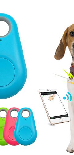 رخيصةأون -أطفال قط حيوانات أليفة GPS الياقات محافظ مكتشف للمفتاح مصغرة GPS لاسلكي الذكية لمكافحة خسر / كهربائيإلكتروني لون سادة بلاستيك أبيض أسود 1PC
