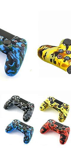 preiswerte -Gamecontroller-Fallschutz für Sony PlayStation 4 ps4-Controller-Fall Weiche Silikonhülle für PS4 / Pro / Slim-Gamepad