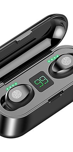 preiswerte -z-yeuy f9 tws wahre drahtlose stereo-ohrhörer ipx5 wasserdicht touch control mini bluetooth 5.0 kopfhörer mit power display 2000 mah energienbank laden das telefon auf hohe klangqualität rauschunterdr