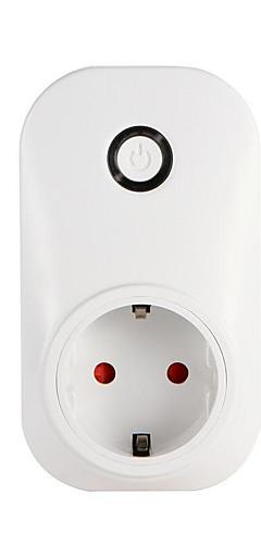 preiswerte -Smart-Buchse Wifi Handy-Schalter Timing-Stecker Sprachsteuerung Buchse Wi-Fi Smart-Stecker mit Energieüberwachung EU / UK / US